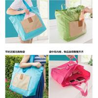 Folding travel bag, hand luggage, female large capacity boarding package, short travel bag, male waterproof, can be set, trolley case