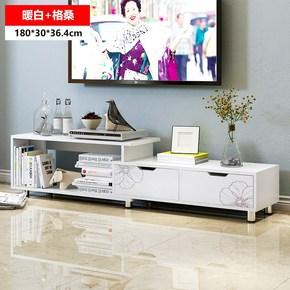 茶几和简约组合墙个性台柜组装中式客厅后经济型电视柜,茶几桌