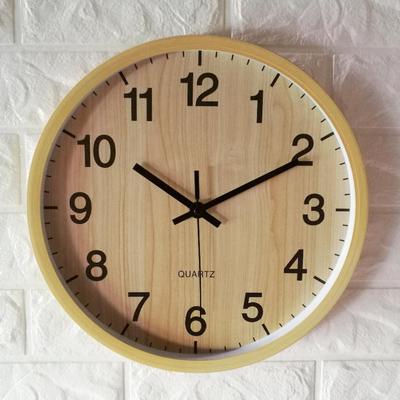 钟表挂钟客厅圆形大气特价