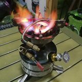 Alcohol stove Gasoline stove Outdoor self-driving fishing picnic stove Ethanol gasification stove Non-diesel kerosene stove fire