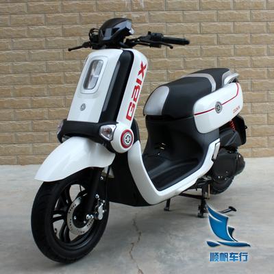 新款雅马哈QBIX四冲程踏板车整车进口125cc燃油车摩托车助力二手