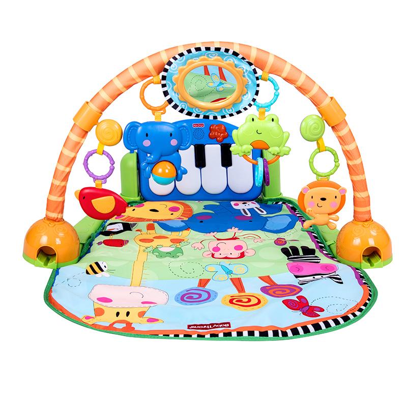 御君阁婴儿脚踏钢琴健身架 3-48个月宝宝游戏毯儿童音乐玩具0-4岁