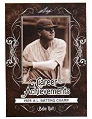 2016 Leaf Babe Ruth Collection Career Achievements CA-06 192