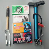 Mountain bike tire repair film sickle bicycle tire repair tool set tire patch riding accessories tire repair glue