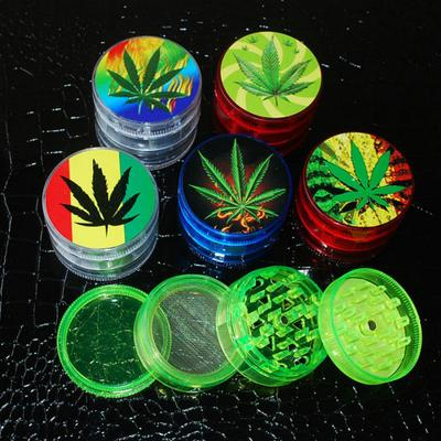2016 NEW Arrival Transparent Acrylic Herbal Pollen Grinder S