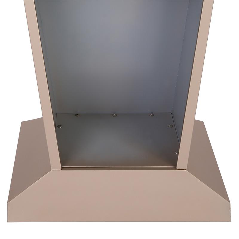 定制公司不锈钢演讲台创意实木餐厅迎宾台 酒店接待台 单位发言台