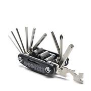 自行车修车工具扳手螺丝刀多功能组合维修套装修理补胎