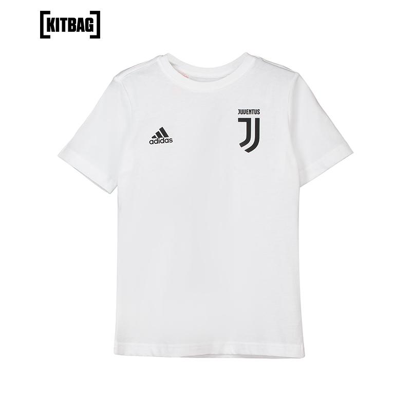 【官方正品】尤文图斯C罗罗纳尔多青少年球衣白色儿童短袖T恤上衣