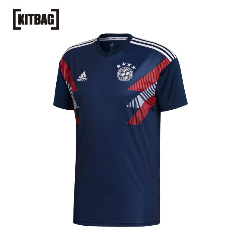 【官方正品】拜仁慕尼黑 Pre 比赛 球衣 - 深蓝色