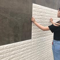 墙纸客厅卧室旧家具自粘文艺背景墙上装饰画欧式房间自己可以贴