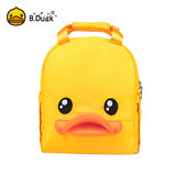 B.Duck small yellow duck 2019 new Mummy bag portable version multi-function large capacity maternal and child package out backpack female
