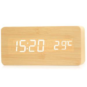 艺舟钟表LED客厅座钟卧室闹钟个性创意床头钟多功能电子钟时钟