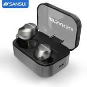 Sansui/Shanshui I23 Bluetooth Headset 5.0 Mini Ultra Small Invisible Sports In-Ear Ears True Wireless Earbuds Apple Driving Unisex Running Headphones Answering Calls
