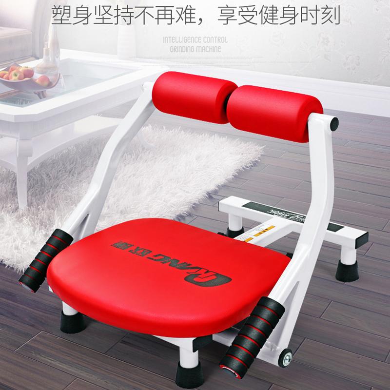 懒人收腹器女减腰瘦肚子家用健身器材仰卧起坐辅助器健腹轮卷腹机