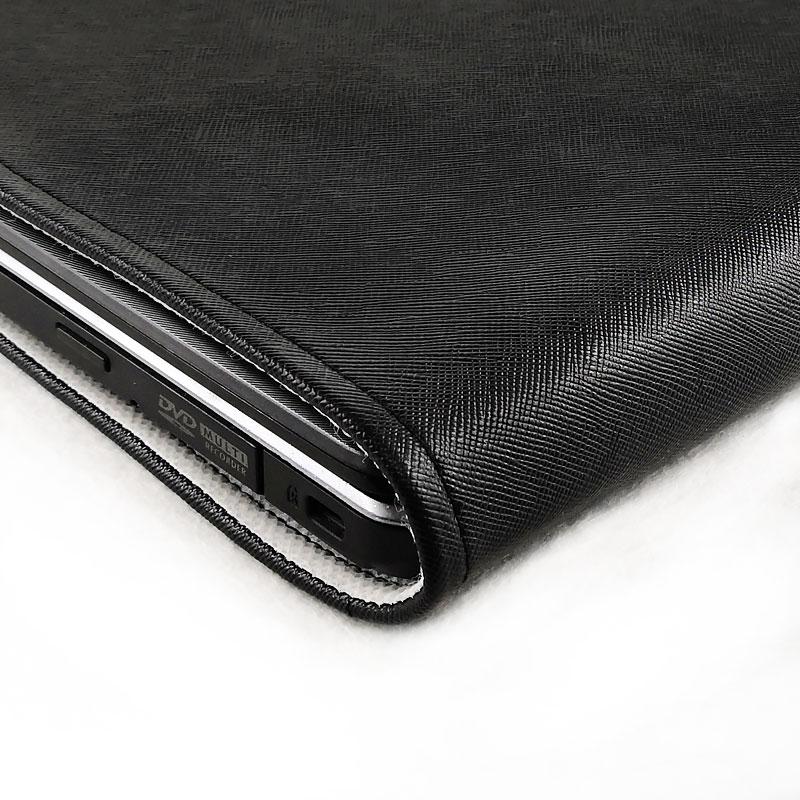 新款皮革 笔记本电脑防尘罩 纯色 装饰保护套罩潮 底部散热 定制