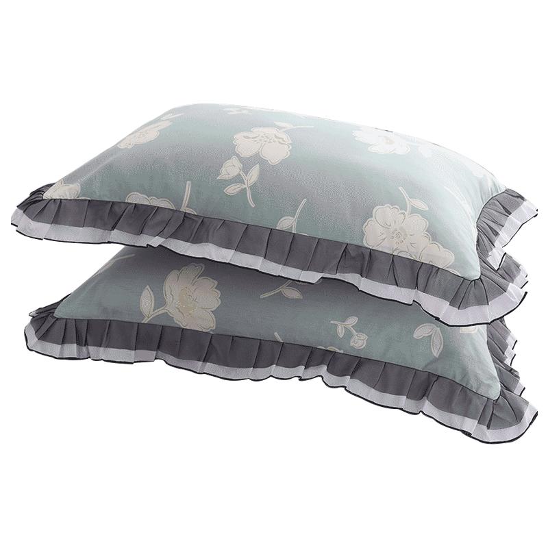 紫罗兰纯棉四件套全棉田园床上用品1.5/1.8m床单被套双人套件