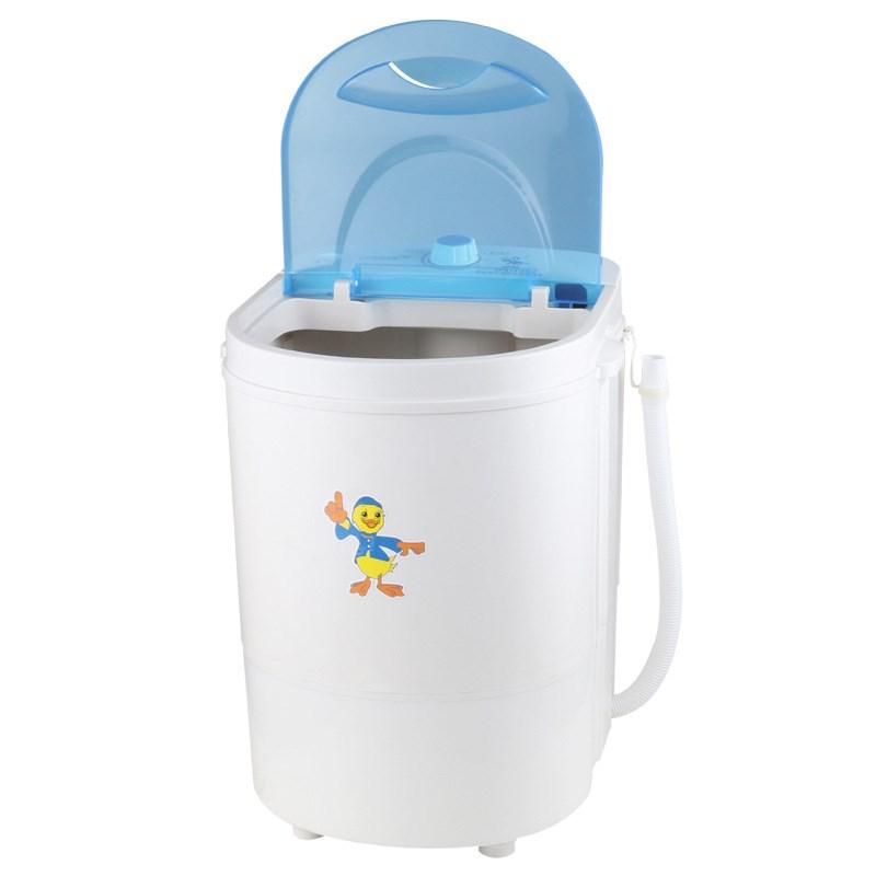 单杠带洗衣机沥单筒婴儿宝宝微型甩干/个人宿舍半单桶脱水脱儿童