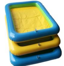 包邮 儿童益智玩具太空火星动力玩沙滩气垫充气沙盘塑料沙桌托盘