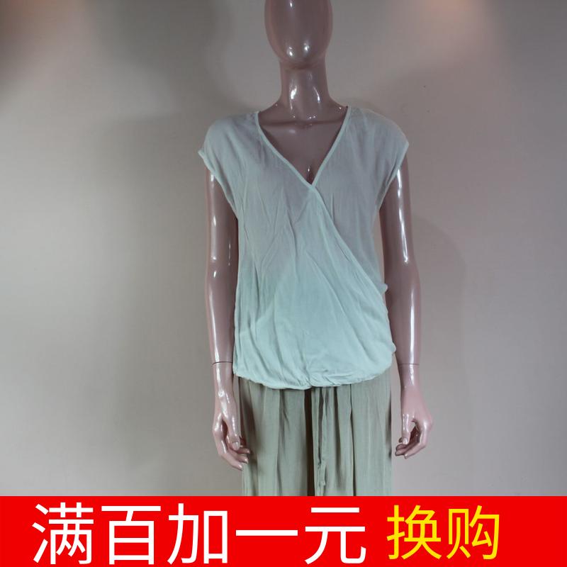 乐淘女装新款夏女款休闲T恤无袖打底衫超舒服瑕疵特价