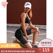 Alpha Gym Cycling Pants Five Points Middle Pants Fitness Elasticity Quick-dry Running Training Exercise Tight Yoga Shorts Women