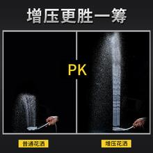 不锈钢顶喷淋雨花洒头增压淋浴喷头莲蓬头加压一体式花洒淋雨莲蓬