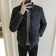 棉衣男士外套冬季2018新款潮流韩版短款棉袄男装加厚保暖羽绒棉服