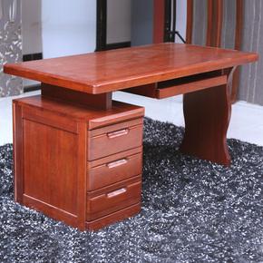 龙抬头 实木书桌 海棠木实木电脑桌 现代中式风格写字台