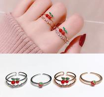 纯银可转动戒指宇宙打开创意礼物送项链S925天文球戒指情侣款