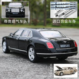 1:18 Star Fen Bentley Mushang simulation alloy car model static metal car model collection ornaments toy car model