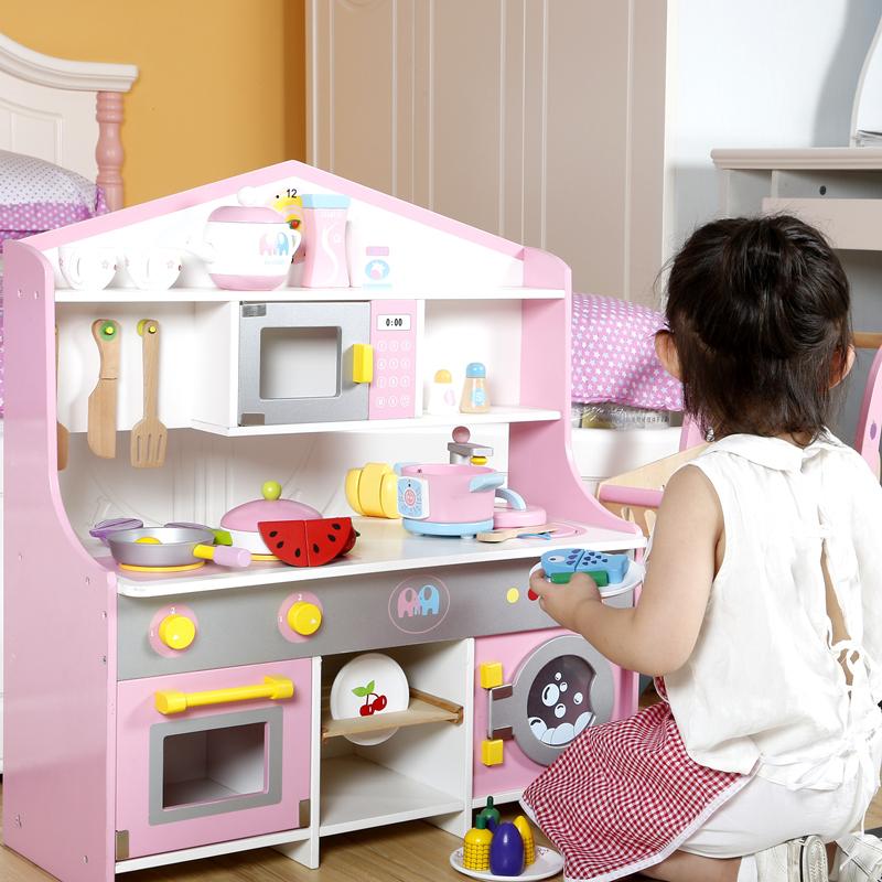 厨房玩具木