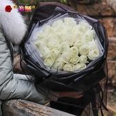 白玫瑰鲜花同城速递崇左江州区凭祥龙州宁明扶绥大新天等奉节县