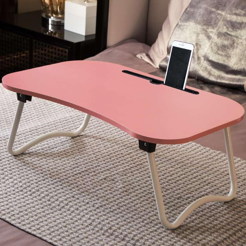 笔记本电脑桌餐桌床上用可折叠懒人大学生宿舍简易书桌小桌子做桌