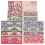 New version of the Republic of China Ocean Banknotes 1949 Guangdong Bank Edition rare old Sun Yat-sen coins