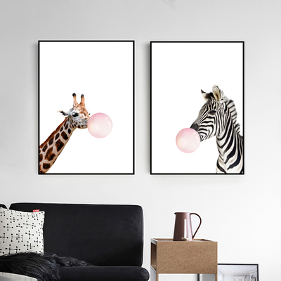 挂画现代动物什么牌子好