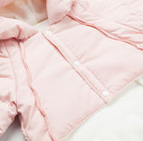 Newborn even foot down jacket jumpsuit winter light female baby female male baby out of the coat winter thickening