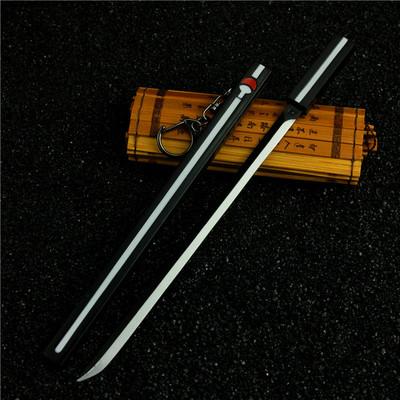 火影忍者 佐助草雉剑合金模型盒装 草稚剑礼物22cm 未开刃