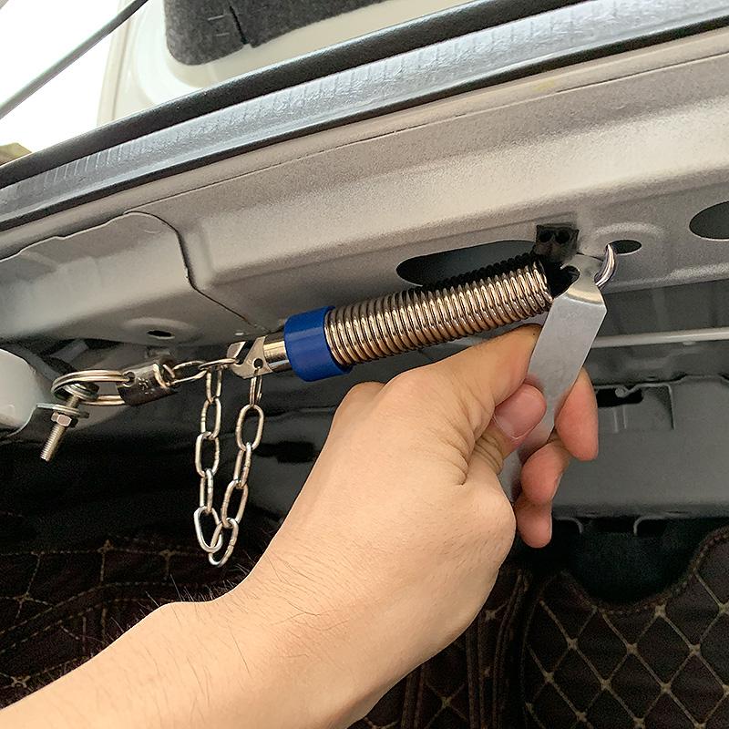 15-18年福特福睿斯后备箱弹簧汽车改装自动开启后尾箱弹起升举器