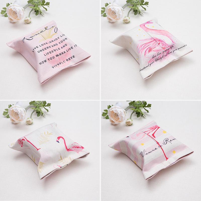 北欧纸巾盒客厅家用纸巾袋车载抽纸盒车用布艺纸巾套抽纸袋