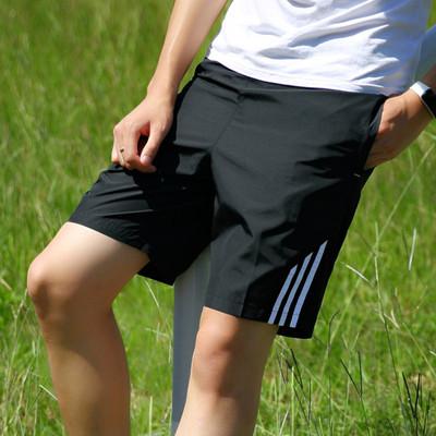 运动短裤男五分裤夏季大裤衩宽松大码健身跑步速干透气排汗运动裤