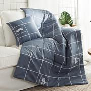 小毯子抱枕两用创意包邮抱被空调被午睡盖毯超薄被子车载ins夏凉