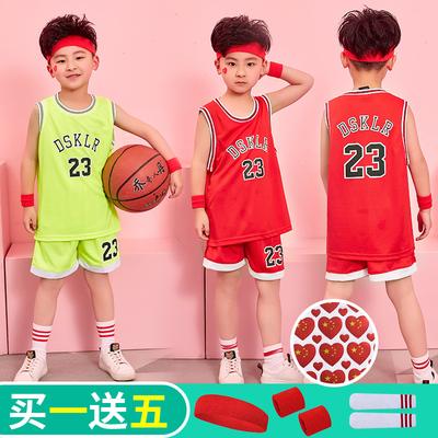 天天特价夏男女幼儿童装篮球服表演背心短裤宝宝篮球衣服运动套装