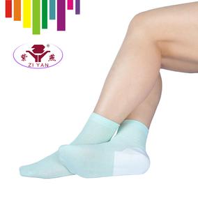 紫燕牌防裂袜女士足跟型夏季薄棉袜子女袜对对袜防脚干脚裂袜子