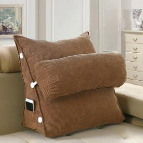 沙发靠枕大号床头靠垫护颈枕腰枕单人大靠背榻榻米立体三角枕头夏