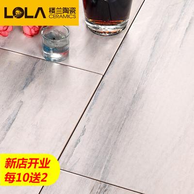楼兰瓷砖 仿实木木纹砖客厅卧室北欧复古仿古地砖地板砖 墨香铃木