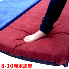 Outdoor single-person automatic inflatable mattress thickening 10cm tent camping mattress portable widening and double moisture-proof mattress