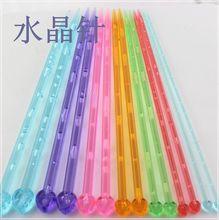 毛线范儿棒针环形针水晶针钢针钩针编织工具