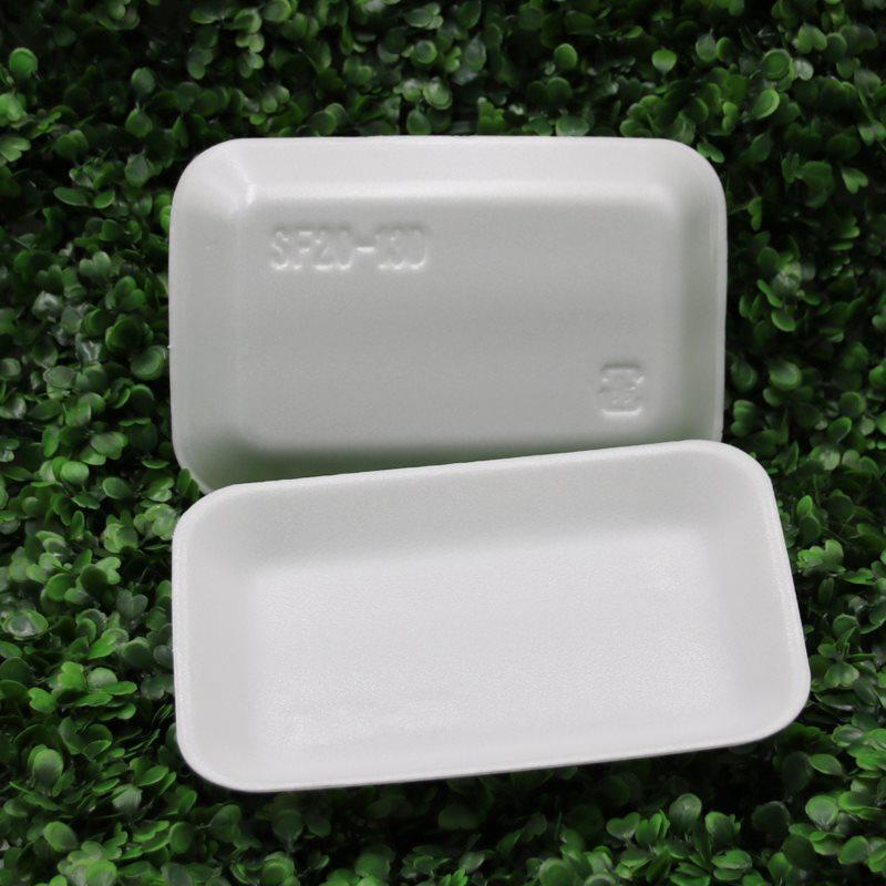 热销包邮加厚一次性水果打包盒深口泡沫托盘箱包装蔬果生鲜专用