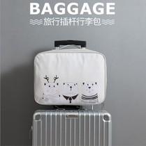 折叠旅行包女手提包行李袋女行李包女健身包韩版大容量轻便短途男