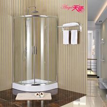 钢化白玻璃洗澡房淋浴隔断沐浴房 厂家直销简易整体淋浴房 沐浴房