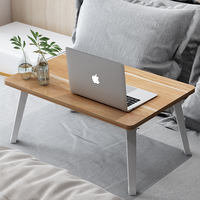 Bedroom bed computer desk notebook table folding table student dormitory lazy learning small table small desk